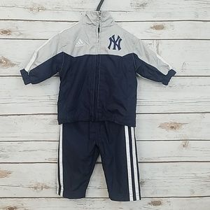 Adidas New York Yankees Track Suit Size 0-3 Months